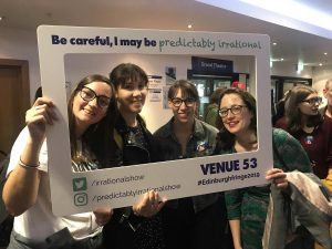 Predictably Irrational 2019 Show | Attendees with Frame 01