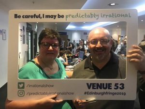 Predictably Irrational 2019 Show | Attendees with Frame 03