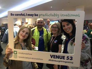 Predictably Irrational 2019 Show | Attendees with Frame 06