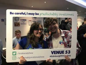 Predictably Irrational 2019 Show | Attendees with Frame 08