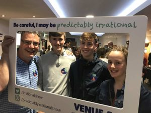 Predictably Irrational 2019 Show | Attendees with Frame 09